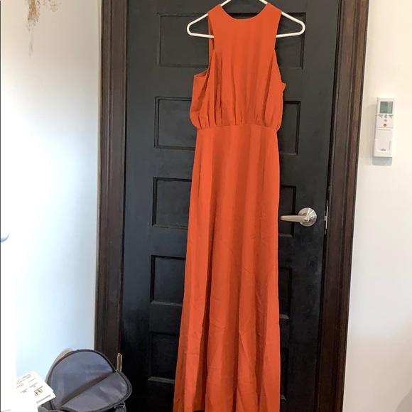 Forever 21 Dresses & Skirts - burnt orange maxi dress